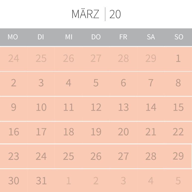 März neu